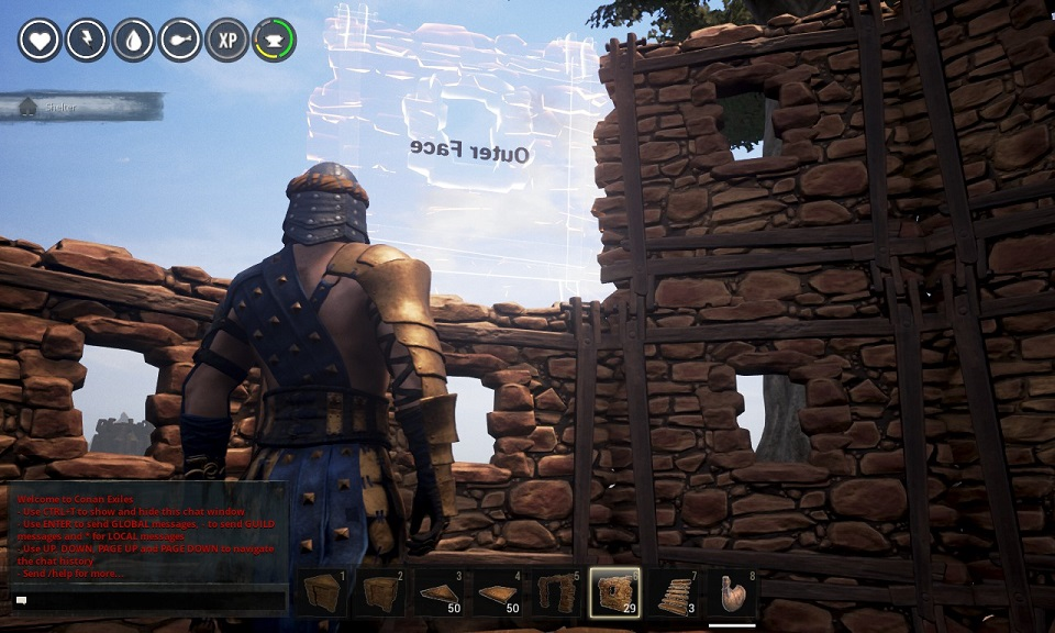 Building Cylinders in Conan Exiles Part 1 « Futiquity