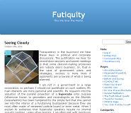 my blog Futiquity