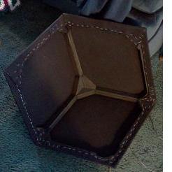 3D speaker grille