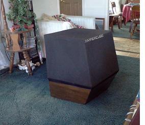 hypercube speaker