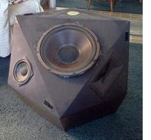uncovered speaker