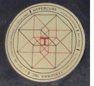 Tesserax logo sticker